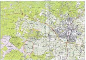 vernatting van de Veluwe kaart 12 oktober 2013